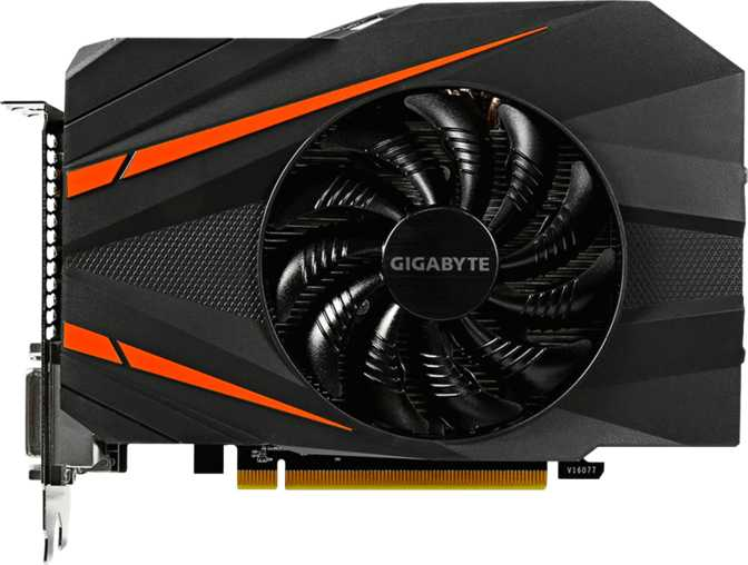 Gigabyte GeForce GTX 1060 Mini ITX 6GB
