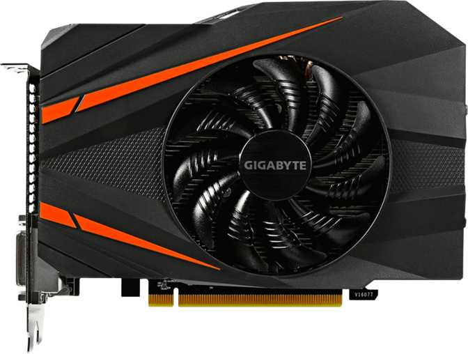 Gigabyte GeForce GTX 1060 Mini ITX OC 3GB