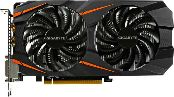 Gigabyte GeForce GTX 1060 WindForce 2X OC 6GB