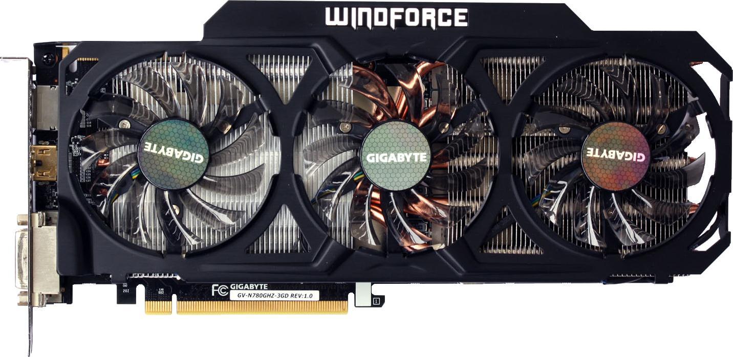 Gigabyte GeForce GTX 780 Ti WindForce 3X OC