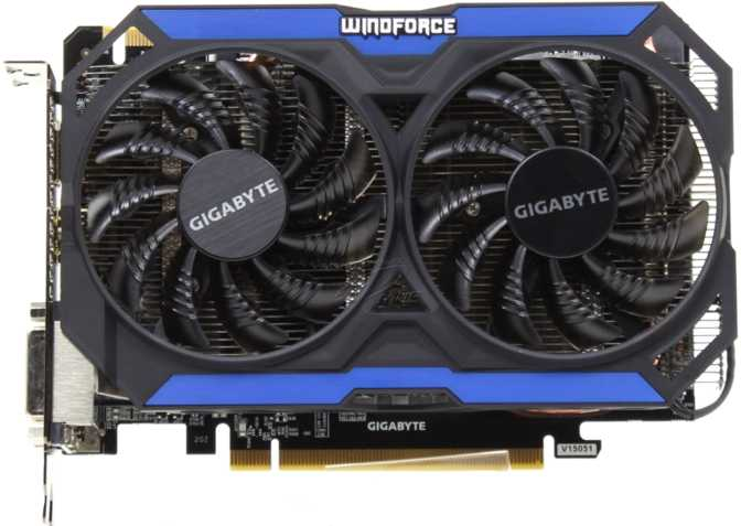 Gigabyte GeForce GTX 960 OC 2GB