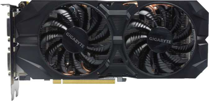 Gigabyte GeForce GTX 960 WindForce 2X 2GB