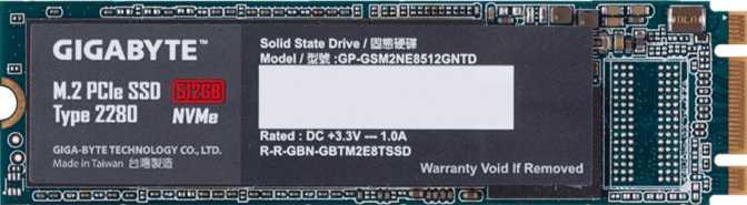 ≫ Gigabyte M 2 PCIe 512GB vs Samsung 970 Pro NVMe M2 2280