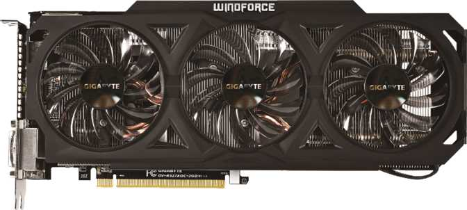 Gigabyte R9 270X WindForce 3X OC