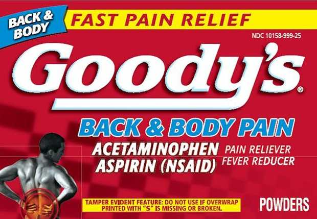 Goody's Back And Body Pain