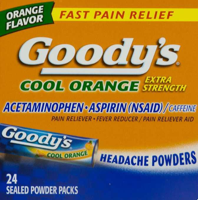 Goody's Cool Orange