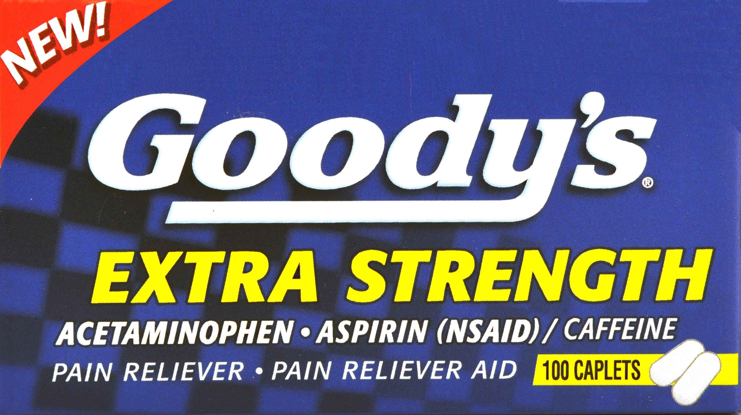 Goody's Extra Strength Caplets