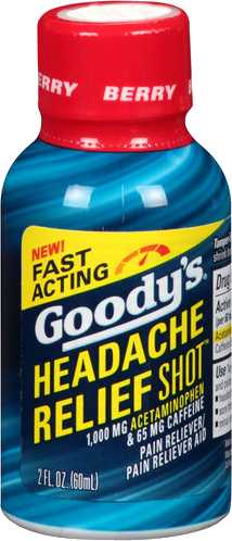 Goody's Headache Relief Shot