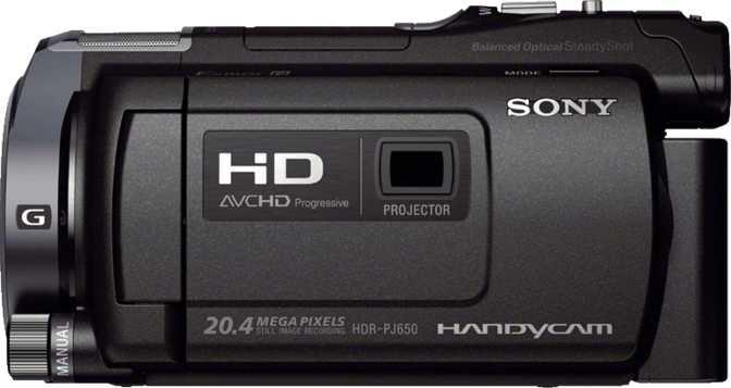 HDR-PJ650V