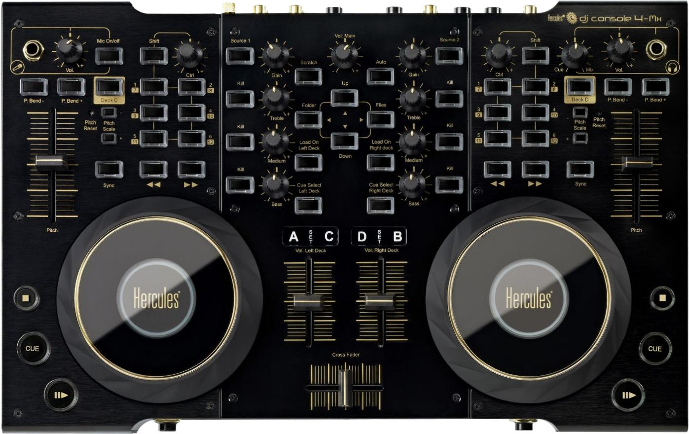 Hercules DJ Console 4 Mx Black