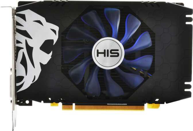 HIS Radeon RX 550 GREEN iCooler OC 4GB