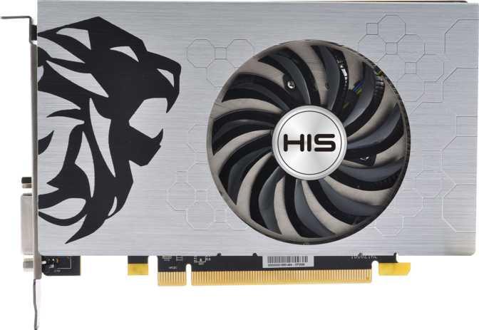 HIS Radeon RX 550 GREEN Slim-iCooler OC 4GB