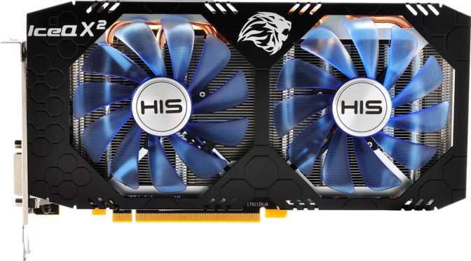 HIS Radeon RX 580 IceQ X2 OC 4GB