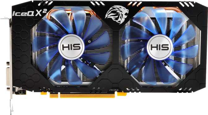 HIS Radeon RX 580 IceQ X2 OC 8GB