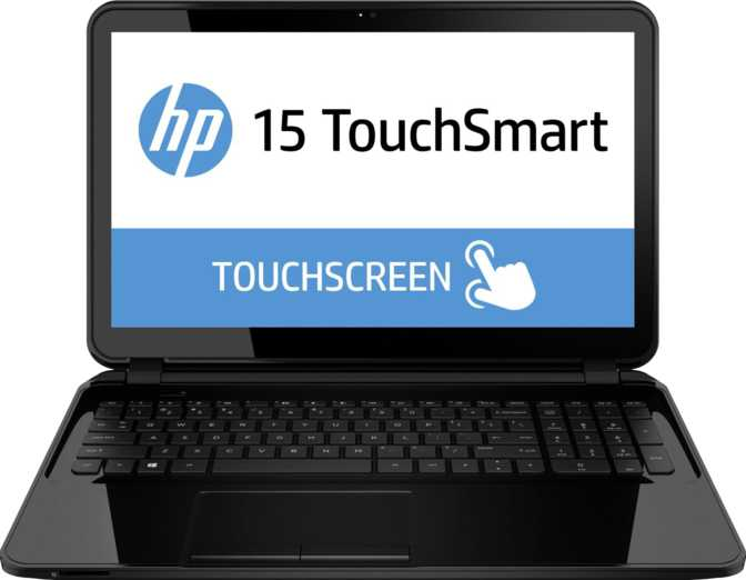 "HP Notebook 15 Touch 15.6"" AMD A-Series 6210 1.8GHz / 4GB / 500GB"