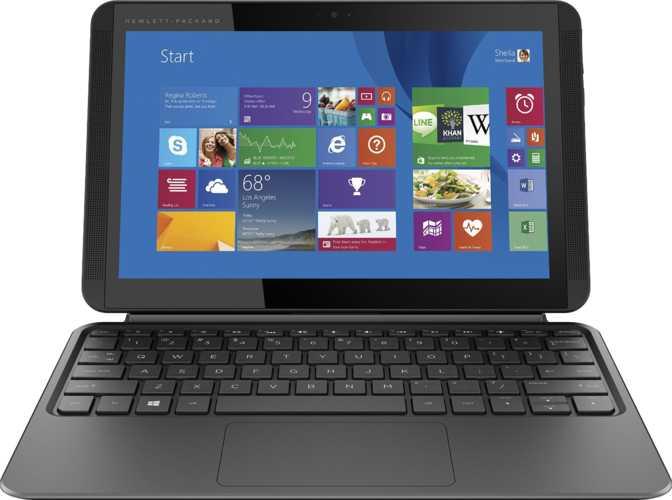 """HP Pavilion x2 10t Touch 10.1"""" Intel Atom Z8300 1.44GHz / 2GB / 32GB"""