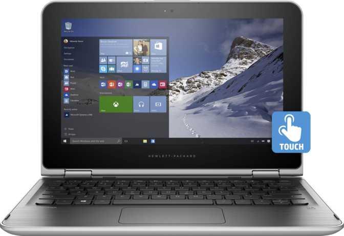 """HP Pavilion x360 11-u031tu 11.6"""" Intel Celeron N3060 1.6GHz / 4GB / 500GB"""