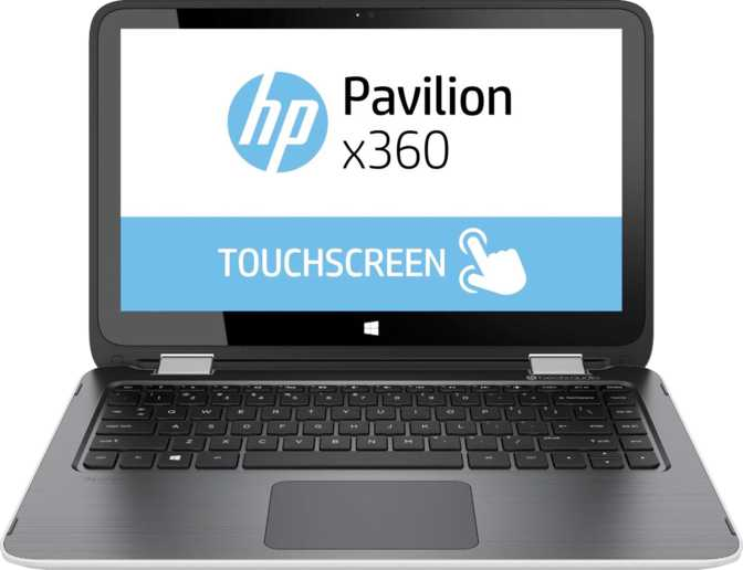 "HP Pavilion x360 13t 13.3"" Intel i3 i3-6100U 2.1GHz / 4GB / 500GB"