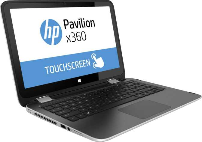 "HP Pavilion x360 Touch 13.3"" Intel Core i3-4030U 1.9GHz / 4GB / 500GB"
