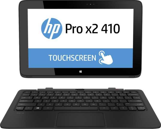 """HP Pro x2 410 G1 11.6"""" Intel Core i5-4202Y 2.6GHz / 4GB / 256GB"""