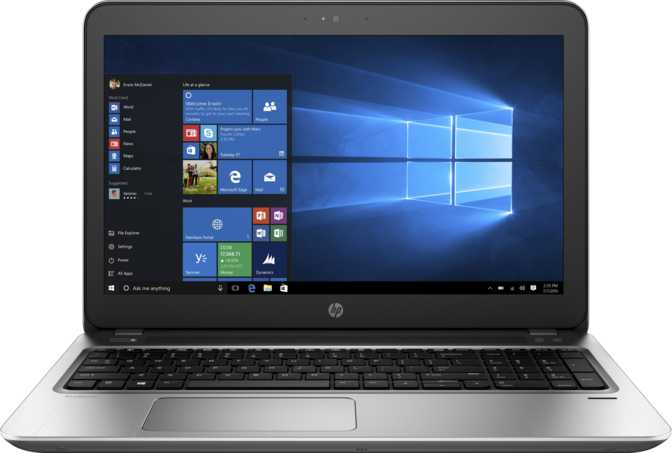 "HP ProBook 450 G4 15.6"" Intel Core i5 7200U 2.5GHz / 4GB / 500GB"