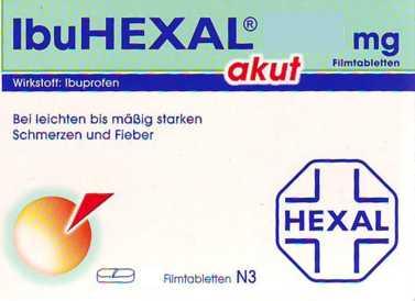 IbuHEXAL akut 200 mg