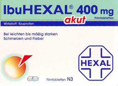 IbuHEXAL akut 400 mg