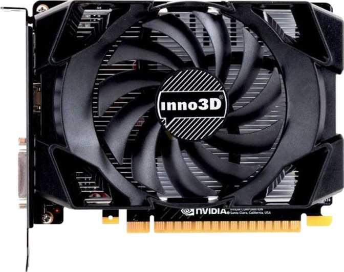 Inno3D GeForce GTX 1050 Ti Compact