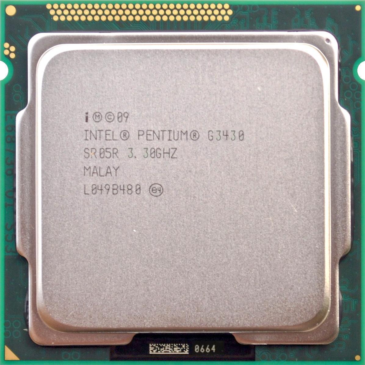 Intel Pentium G3430