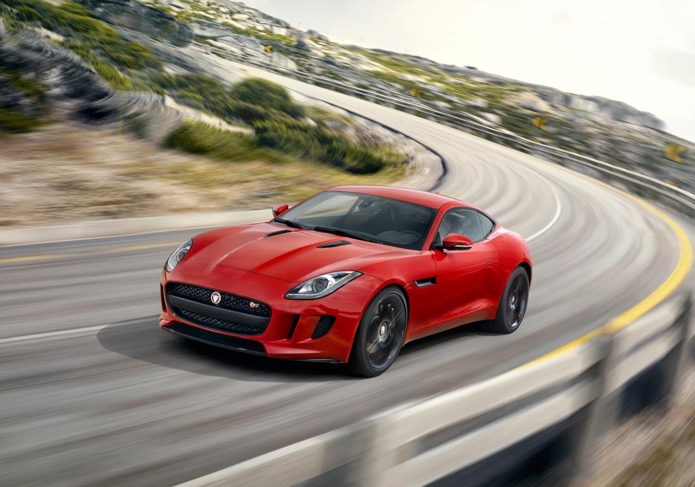 Jaguar F-Type S Coupe (2014)