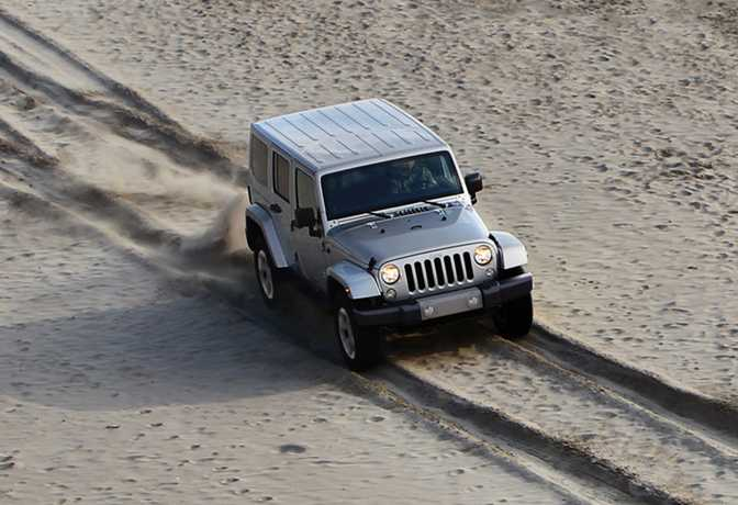 Jeep Wrangler Unlimited Sport (2014)