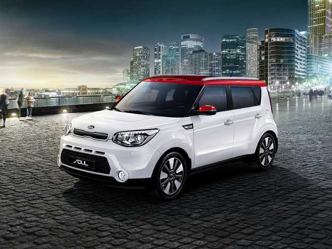 Kia Soul Connect (2015)