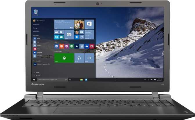 """Lenovo IdeaPad 100-14IBY 14"""" Intel Celeron N2940 1.83GHz / 4GB / 500GB"""