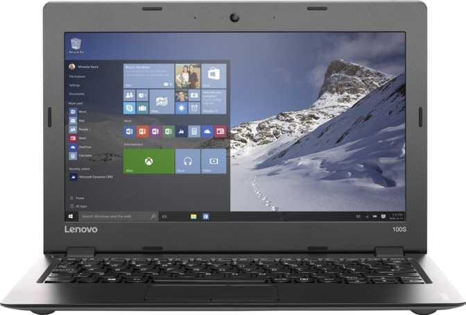"Lenovo IdeaPad 100S Chromebook 11.6"" Intel Celeron N2840 2.16GHz / 4GB / 32GB"