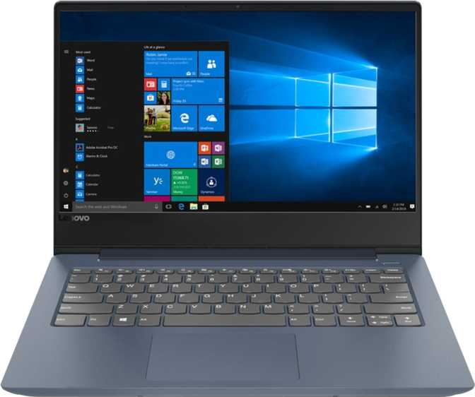 "Lenovo IdeaPad 330S 14"" Intel Core i7-8550U 1.8GHz / 8GB RAM / 256GB SSD + 2TB HDD"