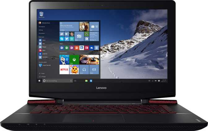 "Lenovo IdeaPad Y700 14"" Intel Core i7 6700HQ 2.6GHz / 8GB / 500GB"