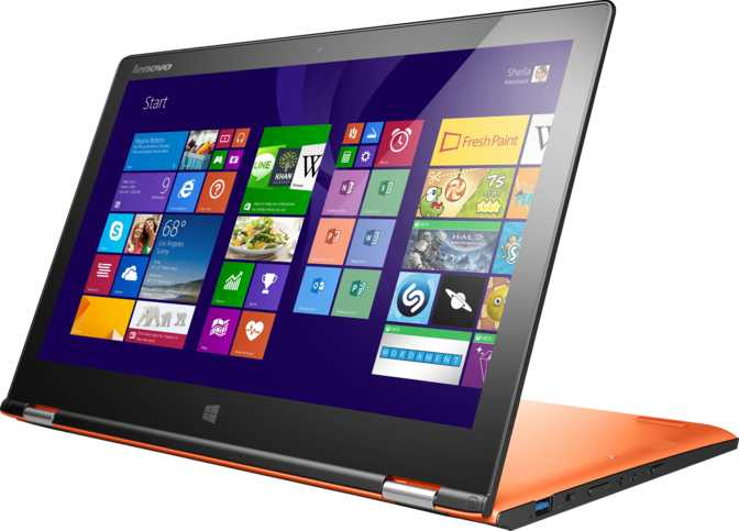 "Lenovo IdeaPad Yoga 2 13 13.3"" Intel Core i5-4200U 1.6GHz / 8GB / 500GB"