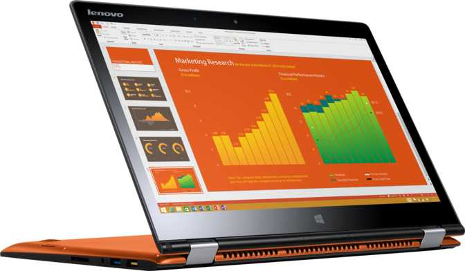 "Lenovo IdeaPad Yoga 3 14"" Intel Core i5-5200U 2.2GHz / 4GB / 128GB"