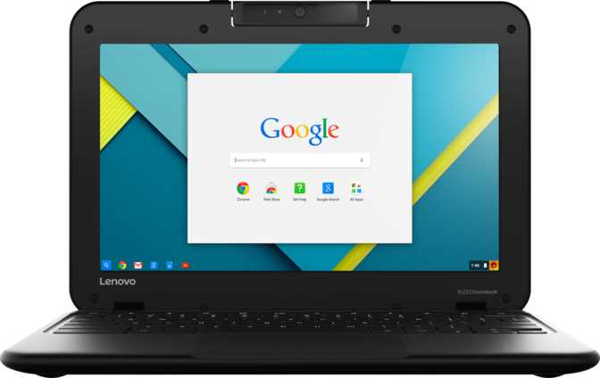 "Lenovo N22 Chromebook 11.6"" Intel Celeron N3060 1.6GHz / 4GB / 16GB"