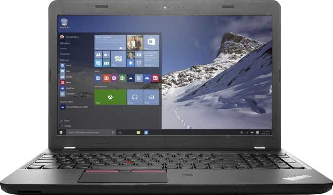 "Lenovo ThinkPad E560 15.6"" Intel Core i3 6100U 2.3GHz / 4GB / 500GB"