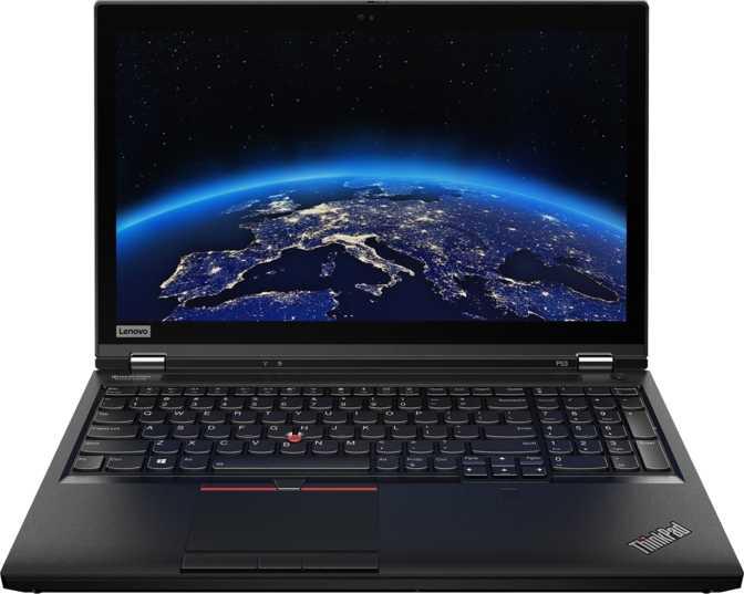 "Lenovo ThinkPad P53 15.6"" UHD Intel Core i7-9850H 2.6GHz / 32GB RAM / 512GB SSD"