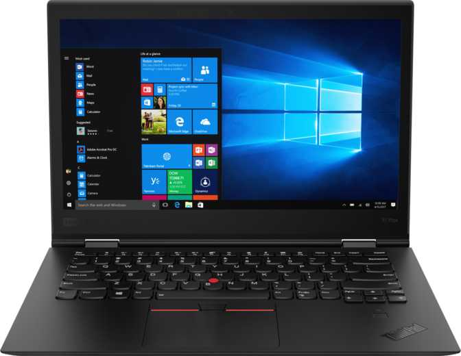 "Lenovo ThinkPad X1 Yoga (2018) 14"" WQHD IPS Intel Core i7-8650U 1.9GHz / 16GB / 1TB SSD"