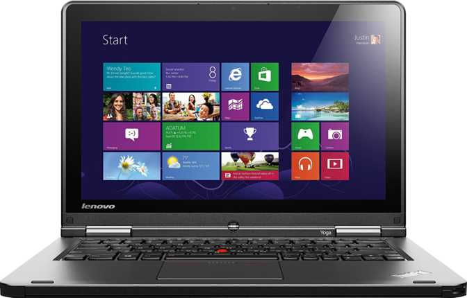 "Lenovo ThinkPad Yoga 12.5"" Intel Core i5-4300U 1.9GHz / 4GB / 256GB"