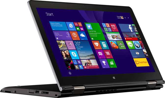 "Lenovo ThinkPad Yoga 15 15.6"" Intel Core i5-5200U 2.2GHz / 4GB / 500GB"