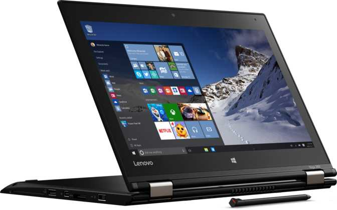 "Lenovo Thinkpad Yoga 260 12.5"" Intel Core i7-6600U 2.6GHz / 4GB / 512GB"