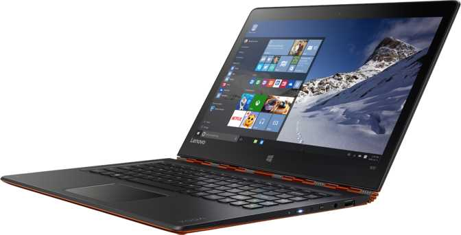 "Lenovo Yoga 900S 12.5"" Intel Core m5 6Y54 1.1GHz / 4GB / 512GB"