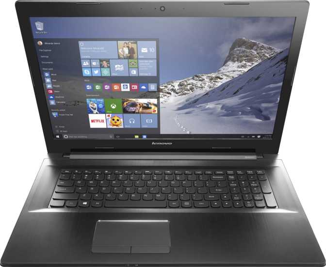 "Lenovo Z70 17.3"" Intel Core i3-5010U 2.1GHz / 4GB / 500GB"