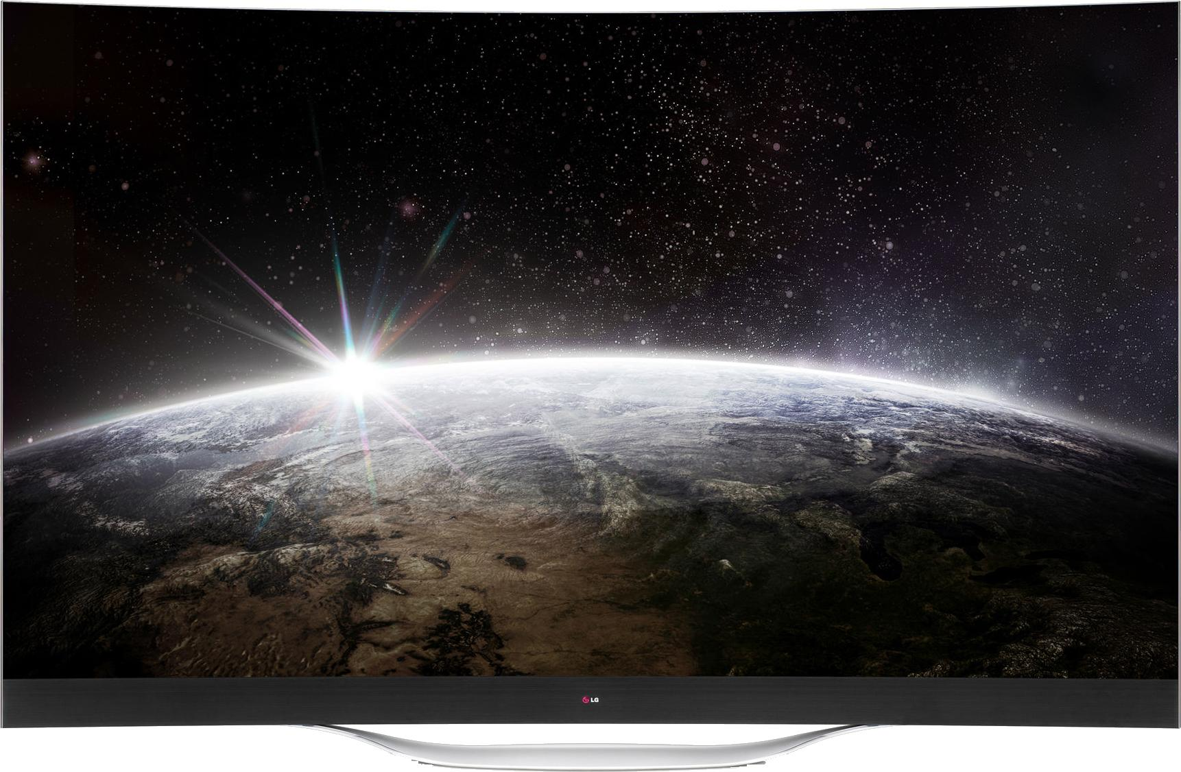 LG 105 inch curved UHDTV