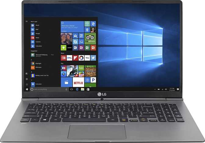"LG Gram 15 (2018) 15.6"" Intel Core i7-8550U 1.8GHz / 16GB / 1TB SSD"