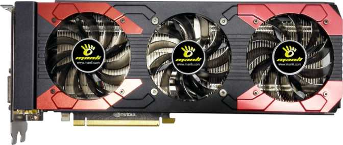 Manli GeForce GTX 1070 Ti F378